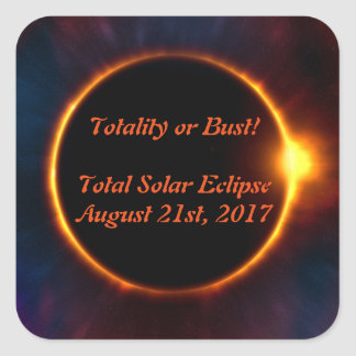 Totality or Bust Sticker