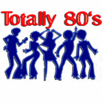 Totally 80s disco acrylic cut outs