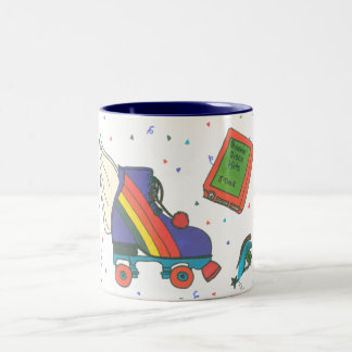 Totally 80's Icons Rollerskate Coffee Mug