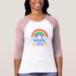 Totally 80s rainbow tee shirt