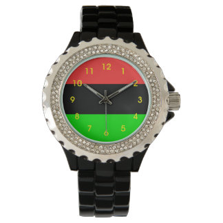 Totally African American Flag Watch