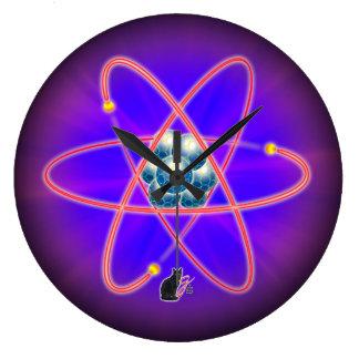 Totally Atomic Large Clock