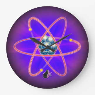 Totally Atomic Wall Clock