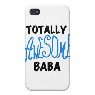 Totally Awesome Baba and Gifts iPhone 4 Cases