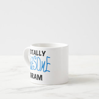 Totally Awesome Gram Blue Gifts Espresso Mugs