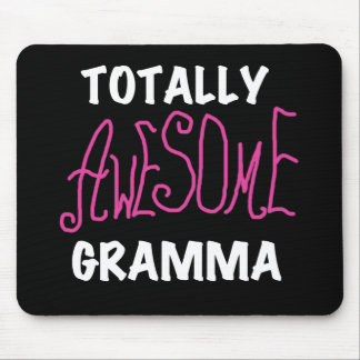 Totally Awesome Gramma Pink T-shirts Gifts Mouse Pads