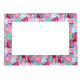 Totally awesome magnetic frame