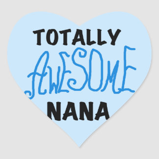 Totally Awesome Nana Blue T-shirts and Gifts Sticker