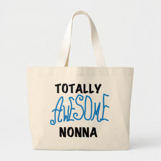 Totally Awesome Nonna Blue t-shirts and Gifts Jumbo Tote Bag