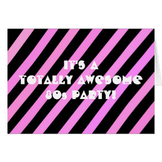 Totally Awesome Party Card