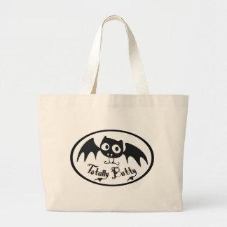Totally Batty Canvas Bag