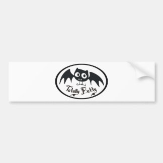 Totally Batty Bumper Sticker