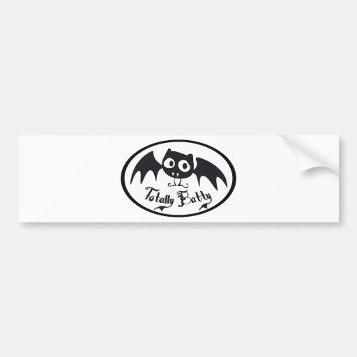 Totally Batty Bumper Stickers