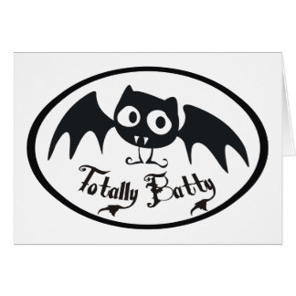 Totally Batty Card