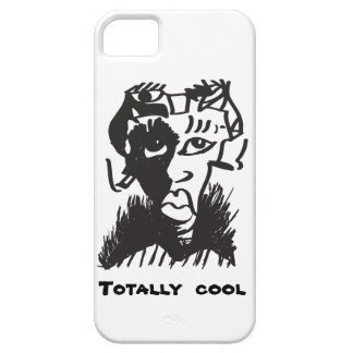 Totally Cool Art Drawing iPhone SE + iPhone 5/5S iPhone 5 Covers