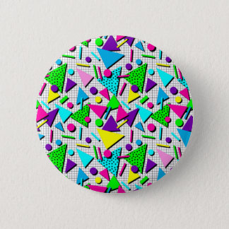 totally radical 6 cm round badge