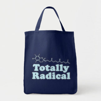 Totally Radical for Science Teachers and Nerds Tote Bag