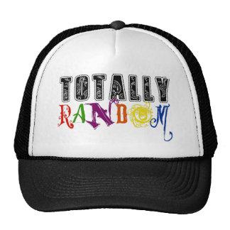 Totally Random Novelty Saying Design Cap