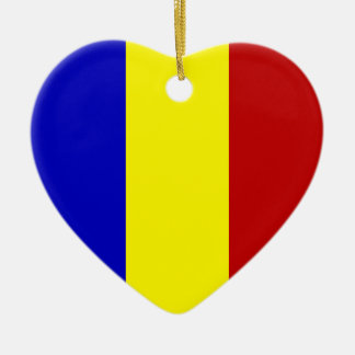 Totally Romanian Flag! Ceramic Ornament