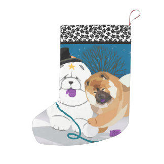TOTALLY S-MITTEN   Chow Holiday Stocking