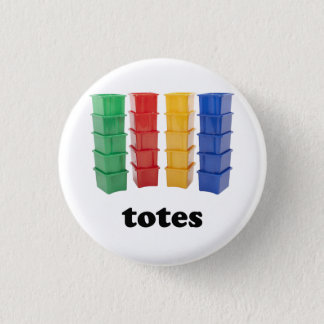 Totally Totes 3 Cm Round Badge