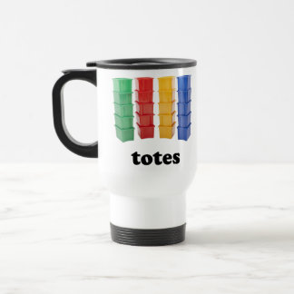 Totally Totes Stainless Steel Travel Mug