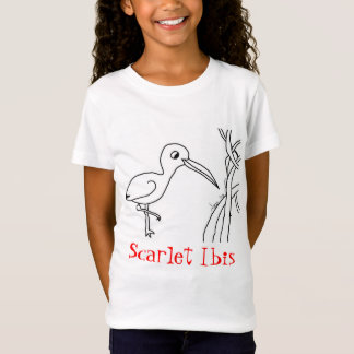 Totally Trini Scarlet Ibis Kids T-Shirt Girls