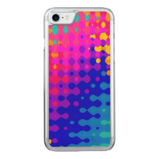Totally Trippy Hippy Pattern Carved iPhone 8/7 Case