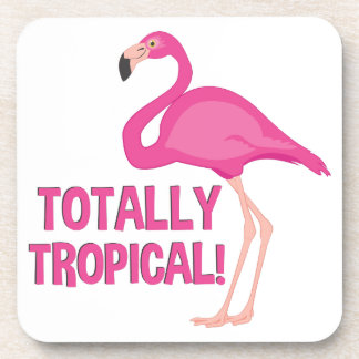 Totally Tropical Drink Coasters