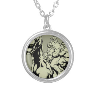 Totally True Stuff Silver Plated Necklace