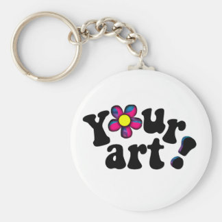 Totally YOU customized personal Keyring Bling