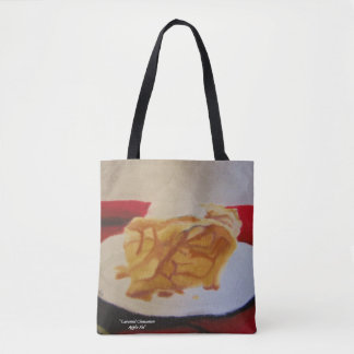 "Tote, All-Over, ""Car Cin Apple Pie"", ALarsenArtist Tote Bag"