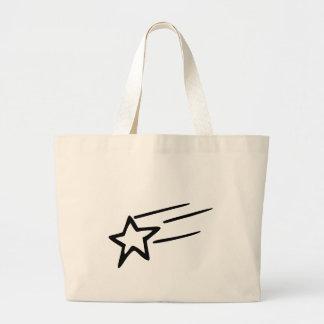 tote back with shooting star bag