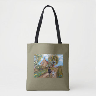 Tote bag: A country walk