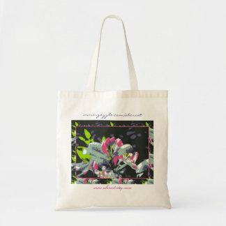 Tote Bag, Budget - Pink Blossoms Budget Tote Bag