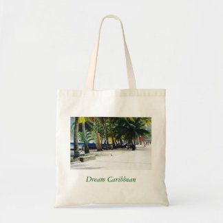 Tote Bag - Canvas Art - Caribbean