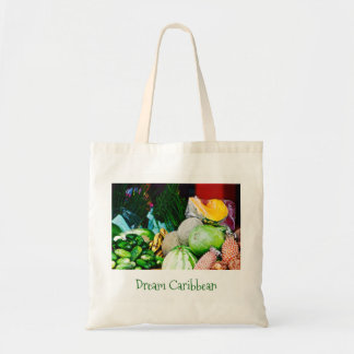 Tote Bag - Canvas Art - Caribbean Fruit