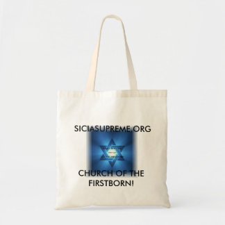 TOTE BAG - CHURCH OF THE FIRST BORN