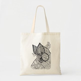 Tote bag cockatoo