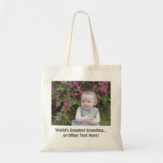 *TOTE BAG: Customize that perfect gift! Budget Tote Bag