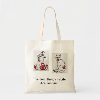 Tote Bag for Animal Rescue Awareness