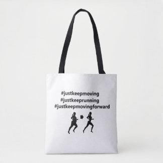 Tote bag for fitness journey