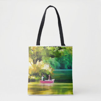 Tote bag for the Lake and boat life