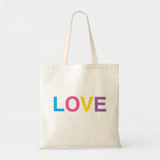 Tote Bag, LOVE, In Big Bold Letters