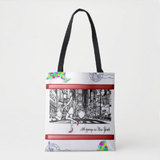 tote bag new york style shopping