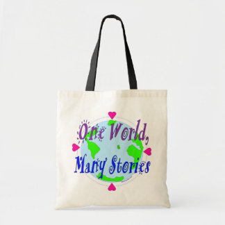 Tote Bag - One World, Many Stories