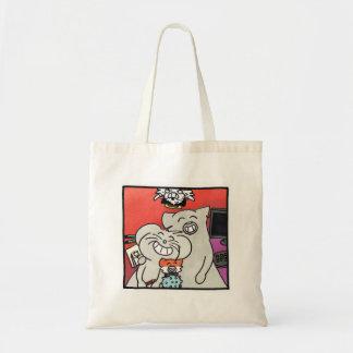 """Tote Bag """"Portrait of Ragnagna family """""""