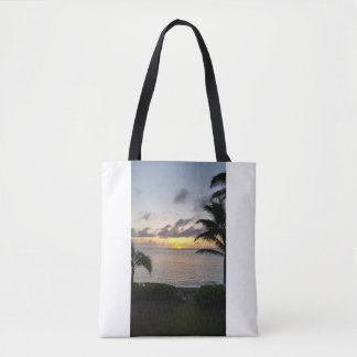 Tote Bag - Punalu`u Sunrise