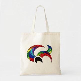 Tote Bag Rainbow Crab