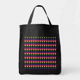 Tote Bag - Rainbow Diamonds